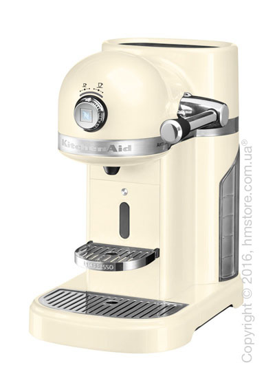 Кофеварка капсульная KitchenAid Artisan Nespresso, Almond Cream. Купить