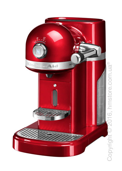 Кофеварка капсульная KitchenAid Artisan Nespresso, Candy Apple Red. Купить