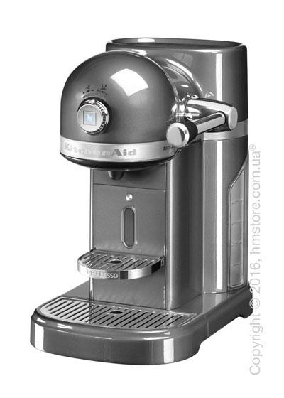 Кофеварка капсульная KitchenAid Artisan Nespresso, Medallion Silver