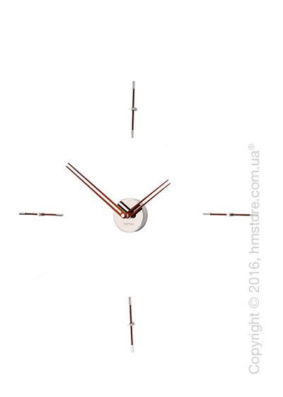 Часы настенные Nomon Mini Merlin 4 N Wall Clock, Walnut