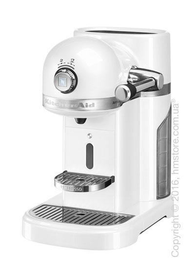 Кофеварка капсульная KitchenAid Artisan Nespresso, Frosted Pearl White