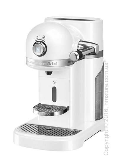 Кофеварка капсульная KitchenAid Artisan Nespresso, Frosted Pearl White. Купить