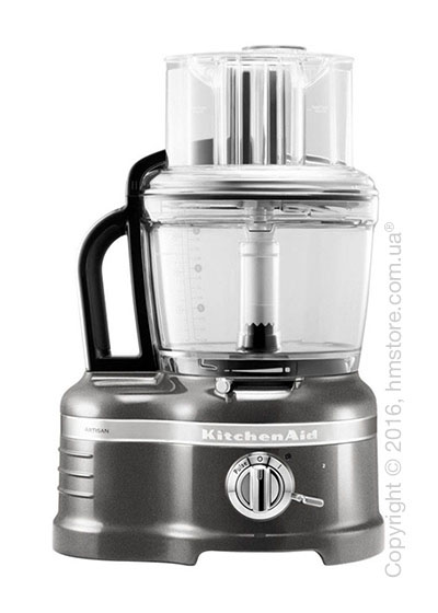 Кухонный комбайн KitchenAid Artisan Pro Line® Series 16-Cup Food Processor 4.0 л, Medallion Silver