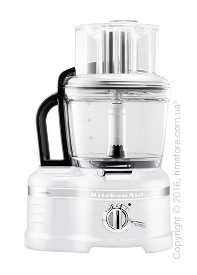 Кухонный комбайн KitchenAid Artisan Pro Line® Series 16-Cup Food Processor 4.0 л, Frosted Pearl White. Купить
