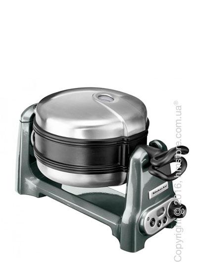 Вафельница KitchenAid Artisan Waffle Baker, Medallion Silver