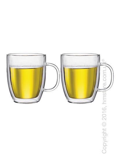 Набор чашек Bodum Bistro 450 мл на 2 персоны