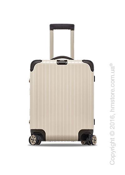 Чемодан дорожный на колесах Rimowa серия Limbo 45 Multiwheel, Creme White