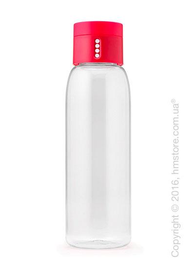 Бутылка для воды Joseph Joseph Dot with Hydration Counting Lid, Pink 600 мл