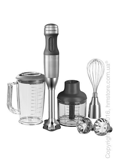 Блендер погружной KitchenAid Stabmixer Handblender, Brushed Stainless Steel