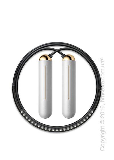 Умная скакалка Tangram Smart Rope, S size, Gold + силиконовые накладки Neutral Soft Grip