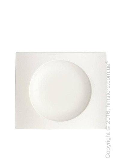 Тарелка столовая глубокая Villeroy & Boch коллекция New Wave, 15 см