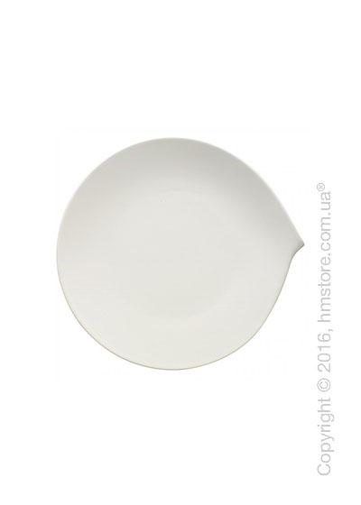 Тарелка столовая мелкая Villeroy & Boch коллекция Flow, 23 см