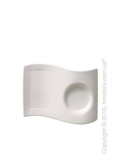 Тарелка десертная мелкая Villeroy & Boch коллекция New Wave, 20x14 см