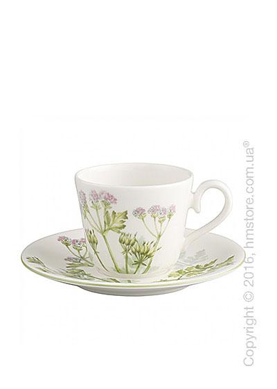 Чашка для эспрессо с блюдцем Villeroy & Boch коллекция Althea Nova 150 мл, 2 предмета