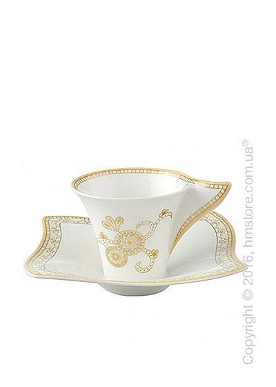 Чашка для эспрессо с блюдцем Villeroy & Boch коллекция Samarah, 2 предмета