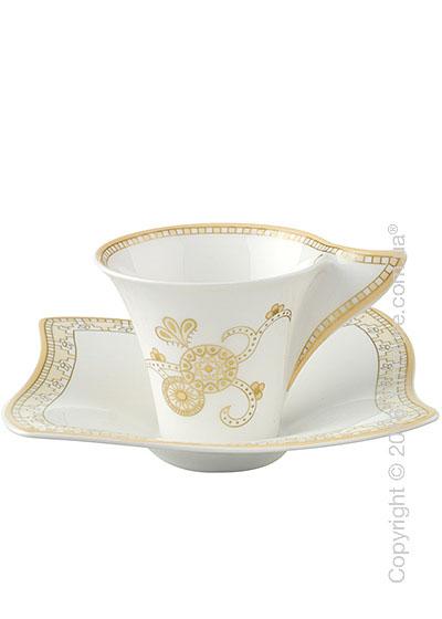 Чашка с блюдцем Villeroy & Boch коллекция Samarah, 2 предмета