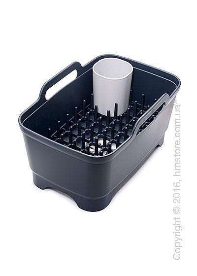 Емкость для мытья и сушки посуды Joseph Joseph Wash & Drain Plus, Grey