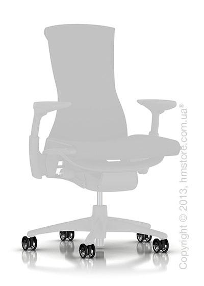 Колесики для твердых покрытий Herman Miller Translucent Hard Floor or Carpet Casters