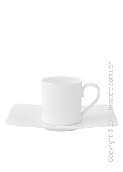 Чашка для эспрессо с блюдцем Villeroy & Boch коллекция Modern Grace 80 мл, 2 предмета