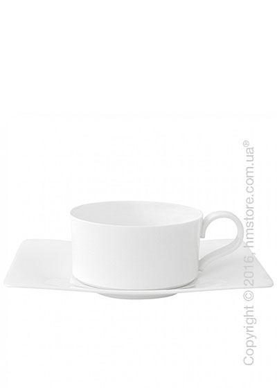 Чашка с блюдцем Villeroy & Boch коллекция Modern Grace 230 мл, 2 предмета