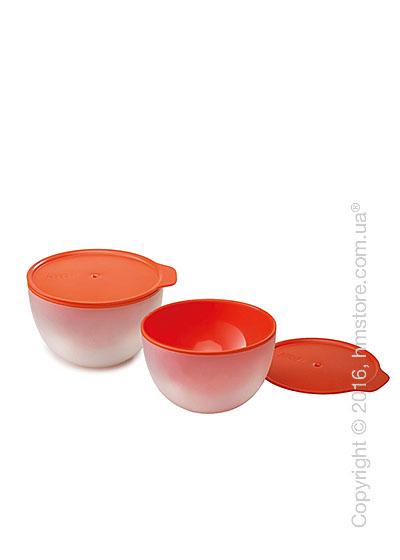 Набор емкостей для микроволновки Joseph Joseph M-Cuisine Cool-Touch Bowls, Orange