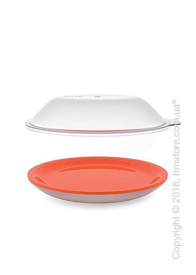 Блюдо для микроволновки Joseph Joseph M-Cuisine Cool-Touch Plate & Lid, Orange