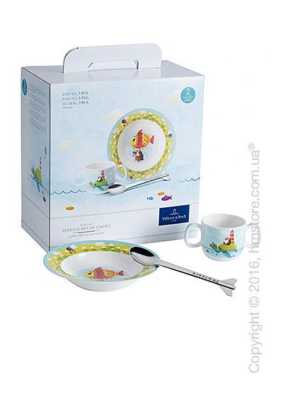 Набор детской посуды Villeroy & Boch коллекция Chewy around the world, 3 предмета