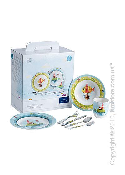 Набор детской посуды Villeroy & Boch коллекция Chewy around the world, 7 предметов