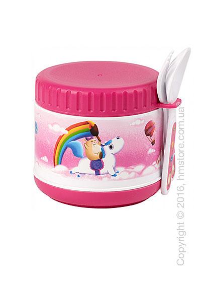 Ланчбокс детский с приборами Villeroy & Boch коллекция Lily in Magicland, Pink