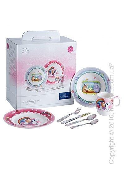 Набор детской посуды Villeroy & Boch коллекция Lily in Magicland, 7 предметов