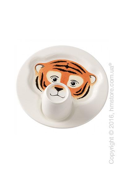 Набор детской посуды Villeroy & Boch коллекция Animal Friends, Tiger 2 предмета