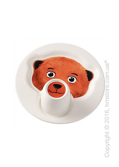 Набор детской посуды Villeroy & Boch коллекция Animal Friends, Bear 2 предмета