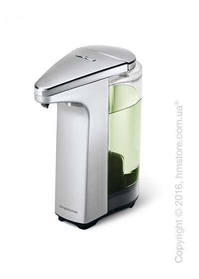 Диспенсер для жидкого мыла сенсорный Simplehuman Sensor Pump, Brushed Nickel