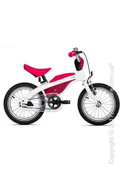 Велосипед-беговел детский BMW Kidsbike, White and Raspberry
