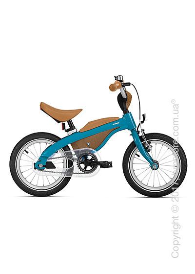 Велосипед-беговел детский BMW Kidsbike, Blue and Caramel
