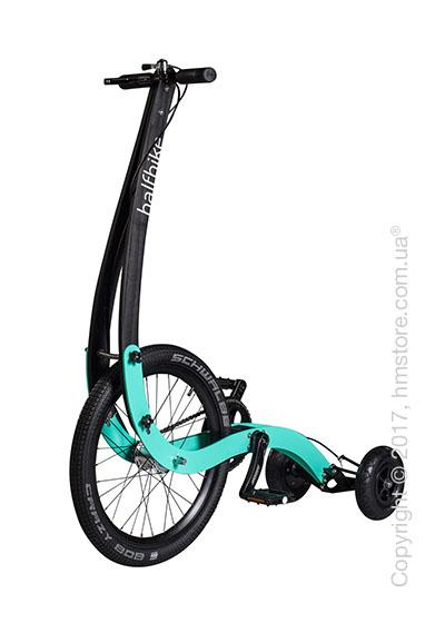 Полувелосипед Halfbike (M), Black and Mint