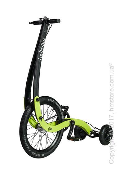 Полувелосипед Halfbike (S), Black and Lime