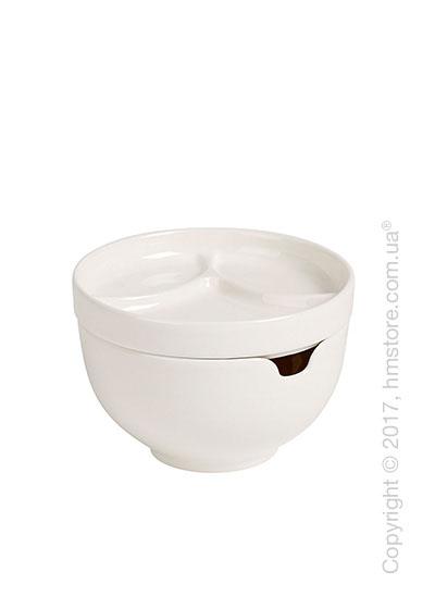 Пиала с крышкой Villeroy & Boch коллекция Soup Passion, 13 см