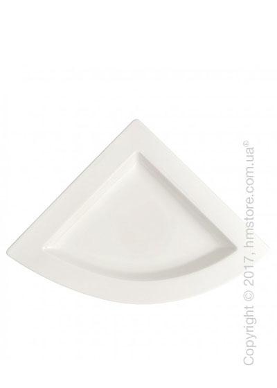 Тарелка мелкая треугольная Villeroy & Boch коллекция New Wave