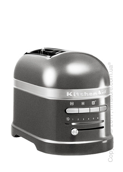 Тостер KitchenAid Artisan 2-Slice Automatic Toaster, Medallion Silver