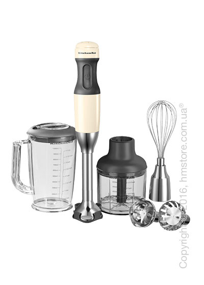 Блендер погружной KitchenAid Stabmixer Handblender, Almond Cream