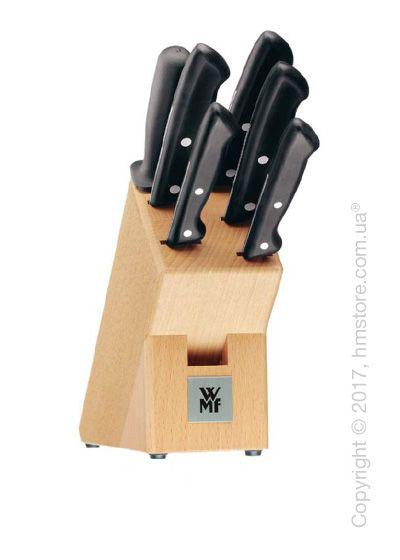 Набор из 5-ти ножей на подставке WMF коллекция Classic Line, Black