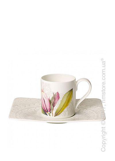 Чашка с блюдцем Villeroy & Boch  коллекция Quinsai Garden 80 мл