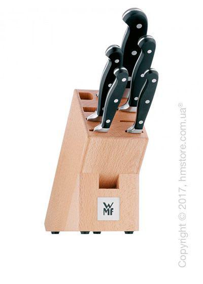 Набор из 5-ти ножей на подставке WMF коллекция Spitzenklasse Plus, Black
