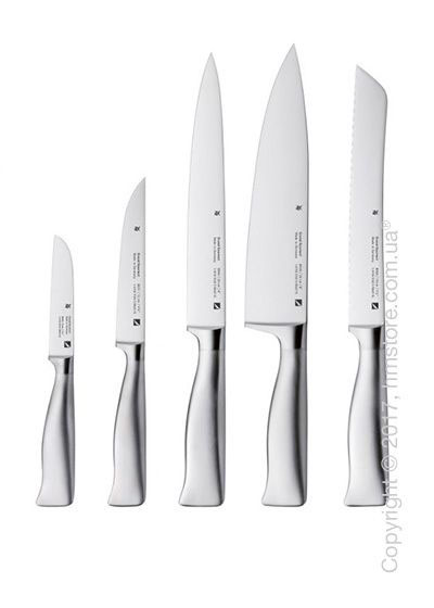 Набор из 5-ти ножей WMF коллекция Grand Gourmet, Steel