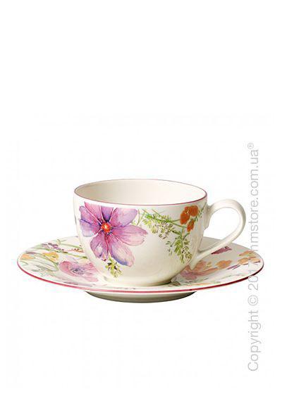 Чашка с блюдцем Villeroy & Boch коллекция Mariefleur Basic 250 мл