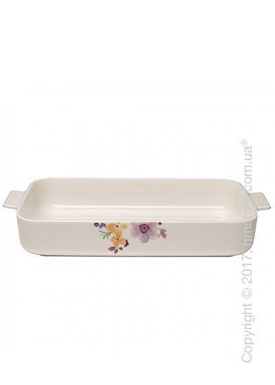 Форма для выпечки фарфоровая Villeroy & Boch коллекция Mariefleur Basic 34х24 см