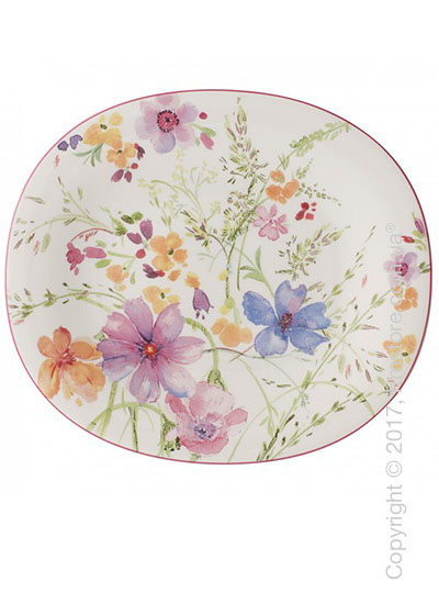 Блюдо для подачи Villeroy & Boch коллекция Mariefleur Basic 23x19 см