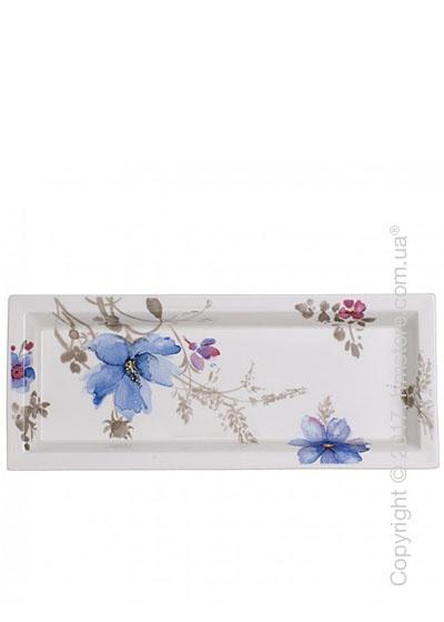 Блюдо для подачи Villeroy & Boch коллекция Mariefleur Gris Gifts 24x10 см