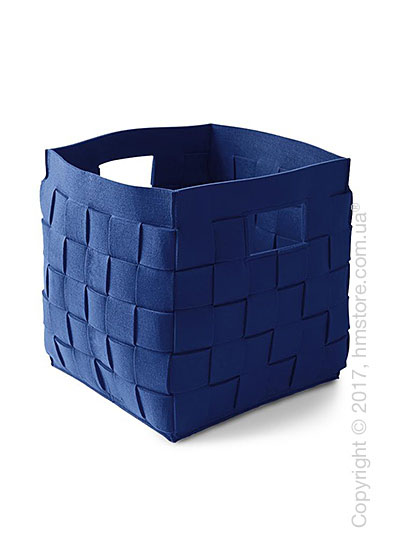 Корзина Calligaris Connor, Polyester felt dark blue